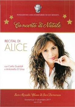 Recital Alice - San Miniato Titel